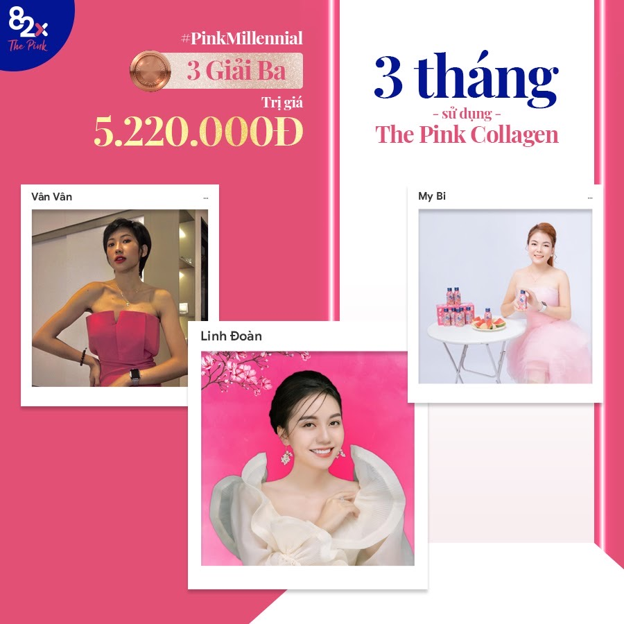 cuộc thi pink millennial của 82x 4